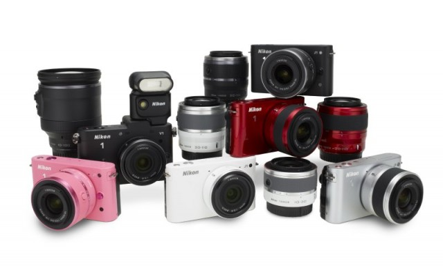 Nikon V1 and 1 Series Family