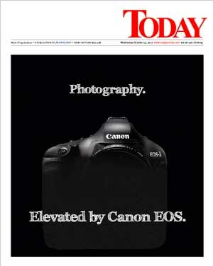 Canon Ad Today