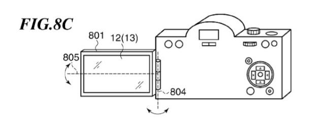 Canon LCD Tilt Swivel