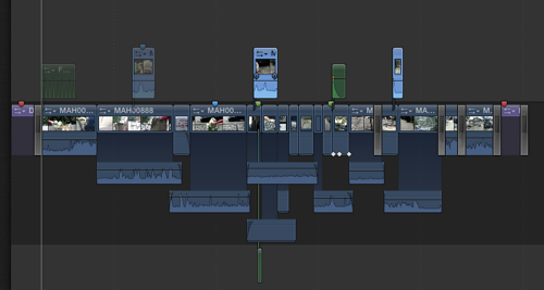 FCP X Sequence (before)