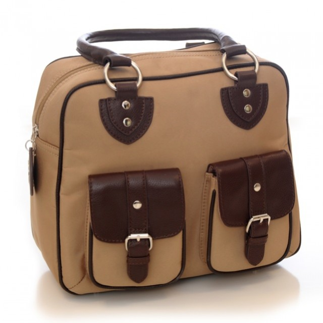 Jill-e Designs - Everywear Gadget Bag-Nougat - Front