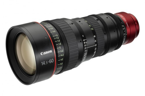 Canon 14.5-60mm Cinema Zoom