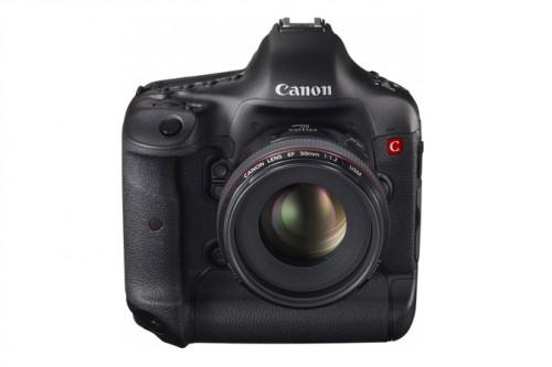 Canon 4K Concept DSLR 50mm front