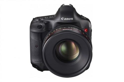 Canon 4K Concept DSLR front