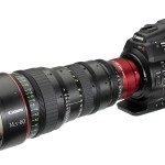 Canon C300 and Cinema Zoom Lens