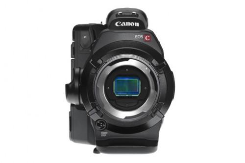 Canon C300 front sensor