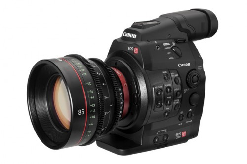 Canon EOS C300 with 85mm