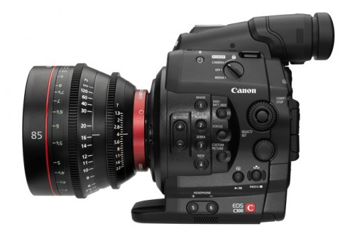 Canon EOS C300 85mm side