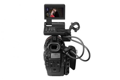 Canon EOS C300 Back