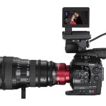 Canon EOS C300 Cinema Zoom Side
