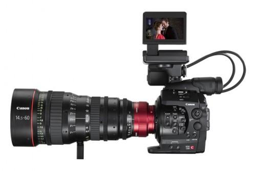 Canon EOS C300 Cinema Zoom Side
