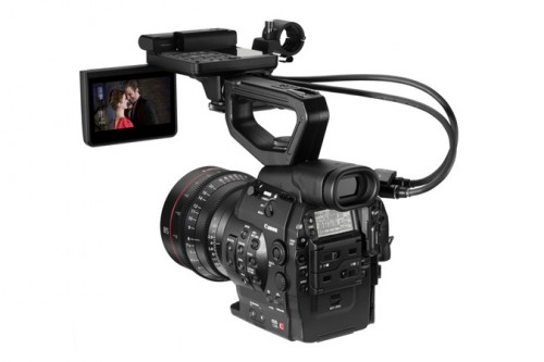 Canon EOS C300 with Monitor