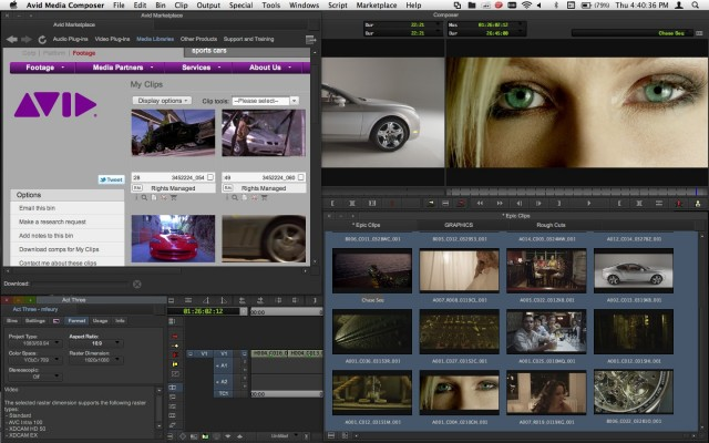 Media Composer 6 Screenshot