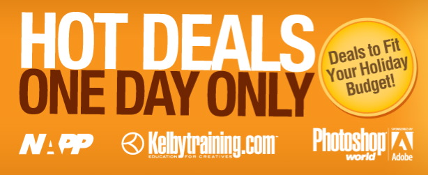 NAPP Kelby Training Photoshop World Cyber Monday