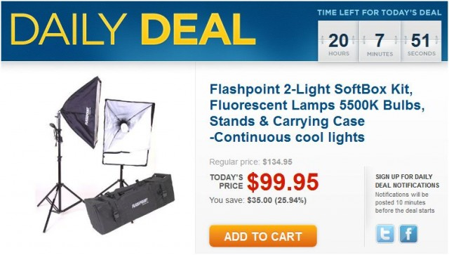 Adorama SoftBox Daily Deal