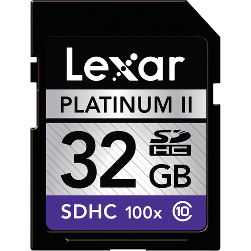 Lexar 32GB SDHC Card