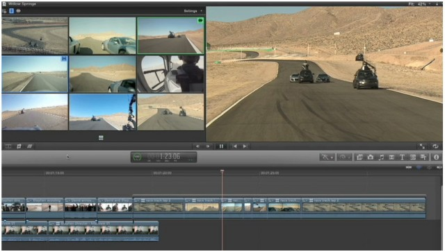 Final Cut Pro X Multicam