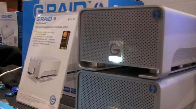 G-Tech G-RAID Thunderbolt