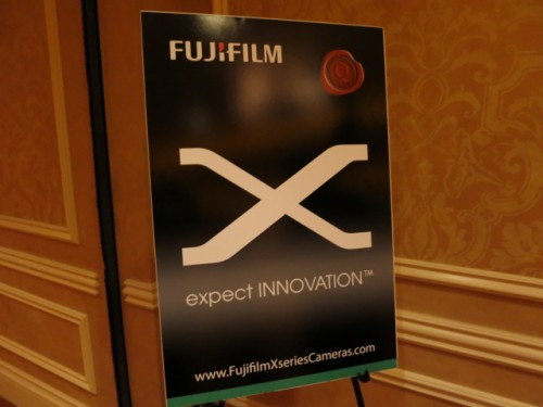 Fuji X Series Expect Innovation Press Event