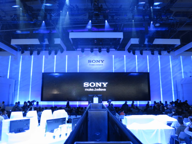 Sony Press Conference at CES 2012