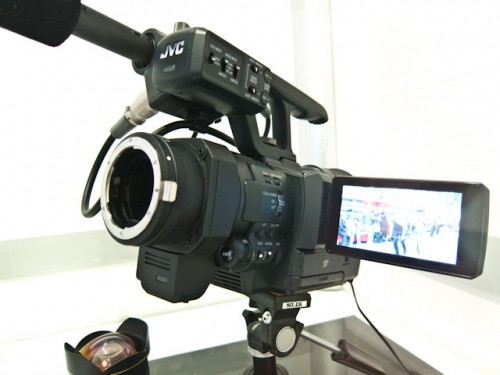 JVC 4K Concept Camera