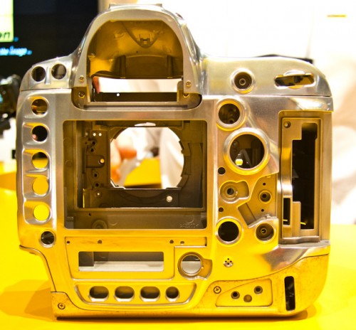 Nikon D4 Magnesium Alloy Frame