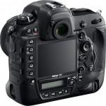 Nikon D4 Back