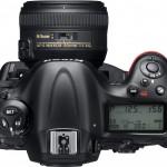 Nikon D4 Top