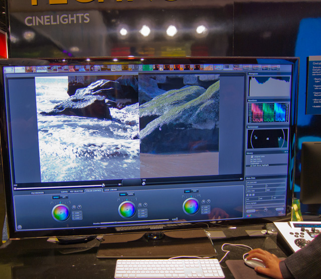 Technicolor CineLights at CES