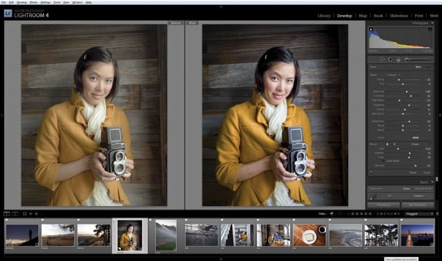 Lightroom 4 Main Interface