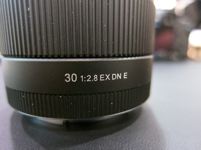 Sigma 30mm f/2.8 EX DN Lens