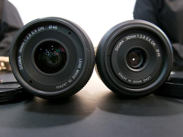Sigma EX DN Lens