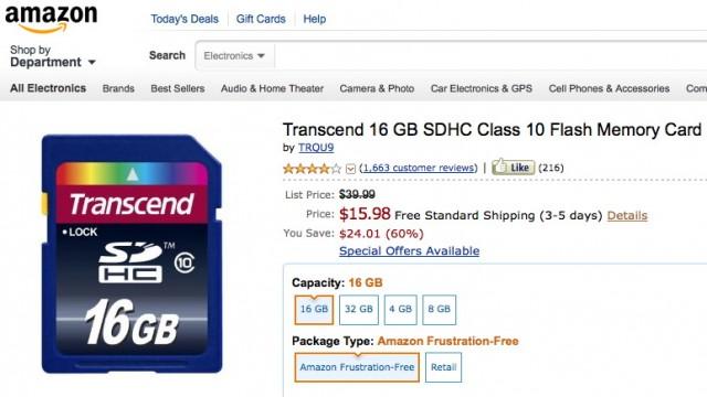 Transcend Class 10 SD Card