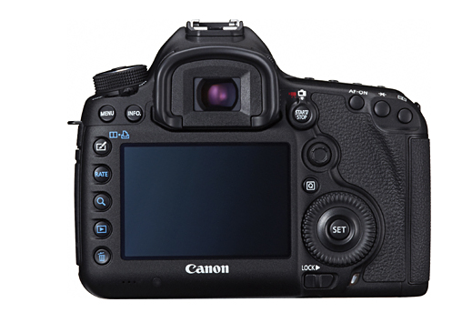 Canon 5D Mark III Back