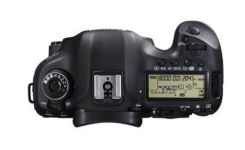 Canon 5D Mark III Top