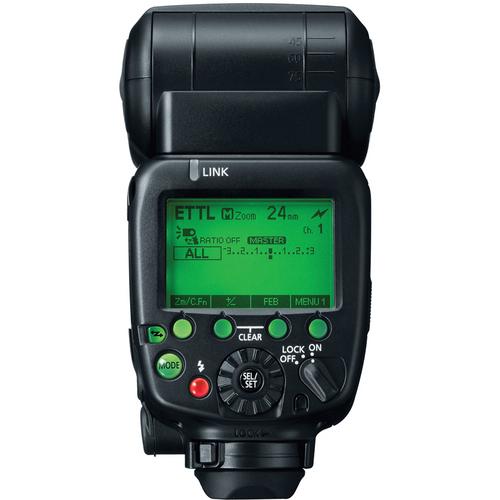 Canon 600EX-RT Back