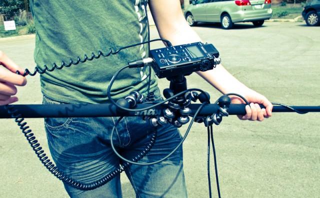 Gorillapod Audio Boompole