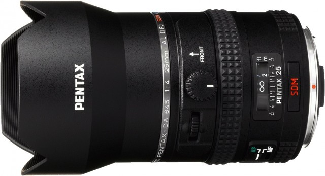 Pentax 25mm f4 for 645D