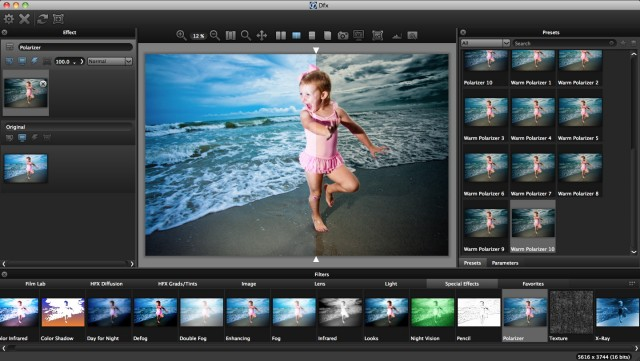 Tiffen Dfx 3 Lightroom Plugin Split-screen View