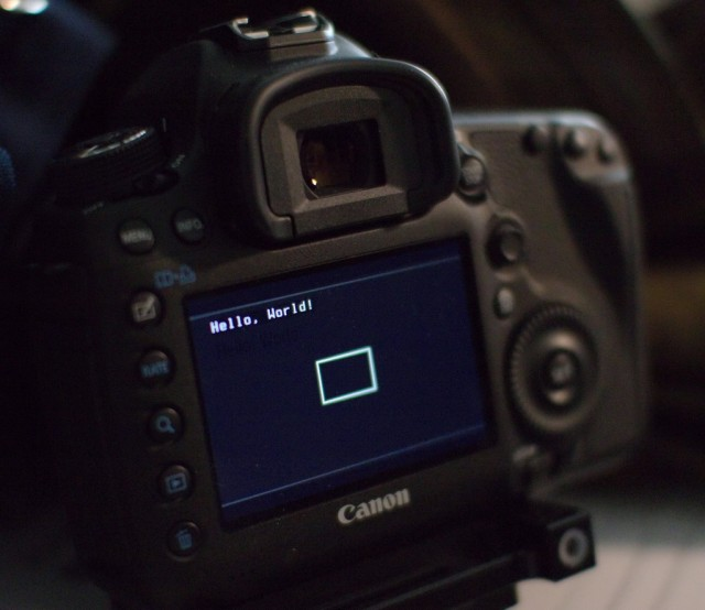 5D Mark III Magic Lantern