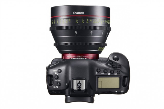 Canon 1D C and Cinema Lens