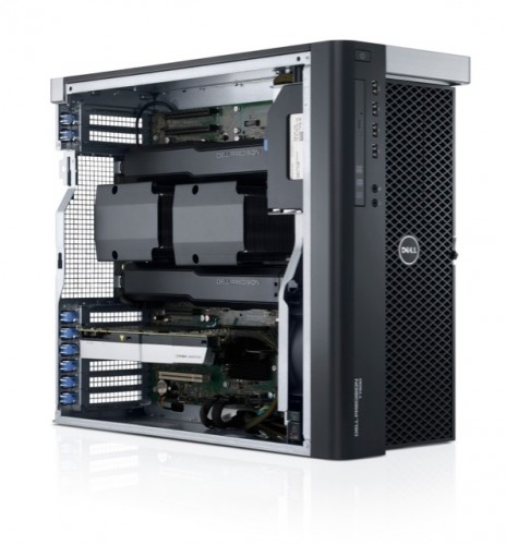 Dell Precision T7600 open dual processor