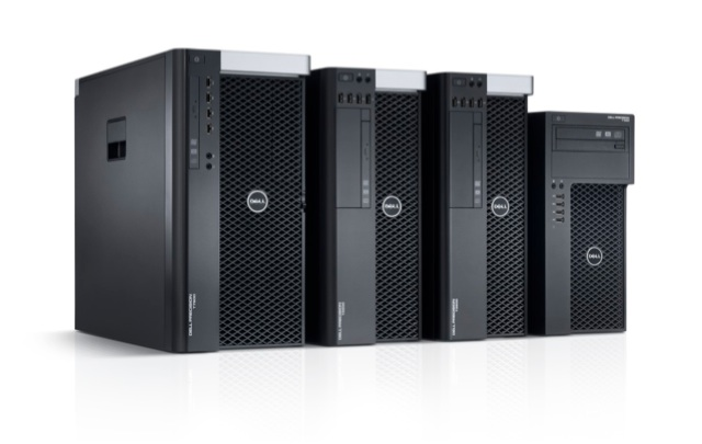 New Dell Precision tower workstations