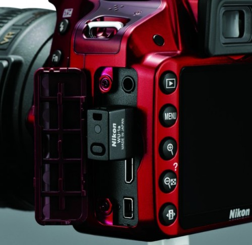 Nikon D3200 with WU-1a