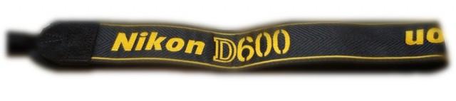 Nikon D600 Strap