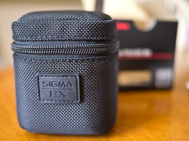 Sigma 30mm EX Lens Case