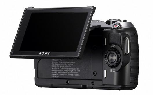 Sony NEX-C3 LCD Tilt