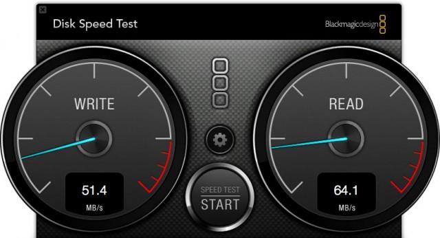 ToughTech Duo RAID 0 Speed Test