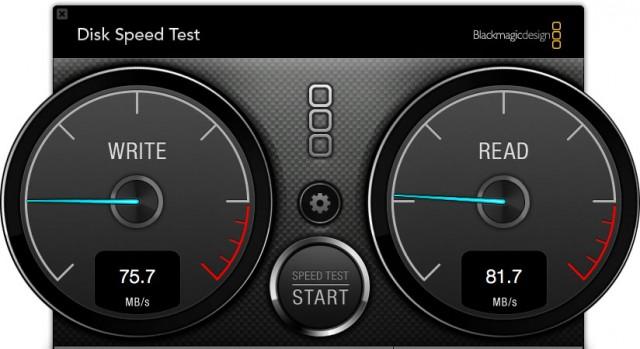ToughTech Duo RAID 1 Speed Test