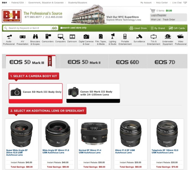 Canon Lens Double Instant Rebates